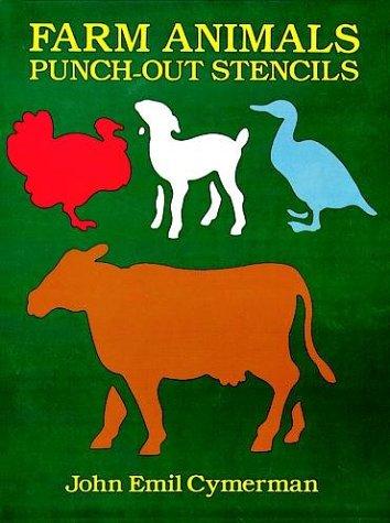 FARM ANIMALS PUNCH-OUT STENCILS
