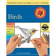 Birds (Peterson Field Guide Colour-in Books)