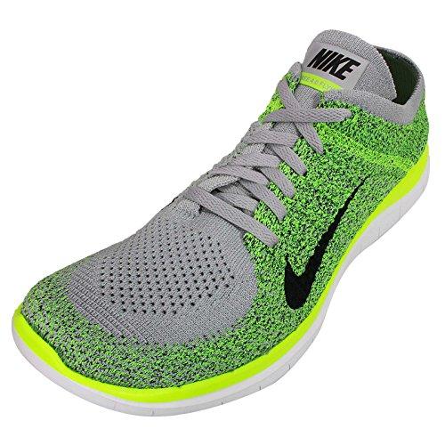 Nike Free 4.0 Flyknit, Baskets mode homme Vert
