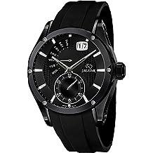 Jaguar correa de reloj J681-1 / J681-2 Caucho / plástico Negro(Sólo reloj correa - RELOJ NO INCLUIDO!)