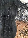 Chantilly Lace Floral Braut/Hochzeit Kleid Blume Stoff