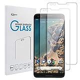 Qoosea Protection écran pour Google Pixel 3 (2-Pack) Ultra Clair et Résistant Film Protecteur D'écran en Verre Tempéré Haute Transparence et Ultra Slim Dureté 9H Verre Trempé écran