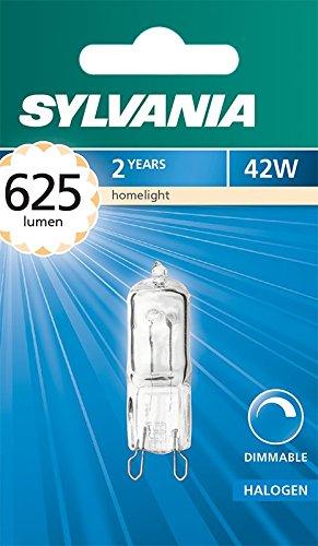 Sylvania syl0022835Kapsel Halogen, Glas, G9, 42W, weiß -