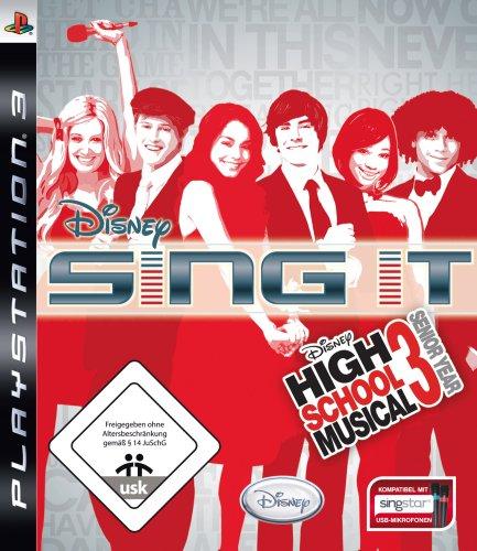 Disney Sing it: High School Musical 3 - Senior Year - [PlayStation 3] (Disney-karaoke-playstation 3)