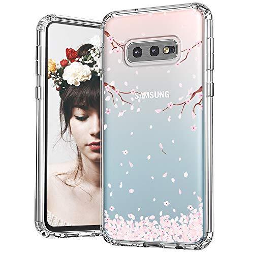 MOSNOVO Galaxy S10e Hülle, Kirschblüte Blühen Blumen Flower Muster TPU Bumper mit Hart Plastik Hülle Durchsichtig Schutzhülle Transparent für Samsung Galaxy S10e Case (Cherry Blossom Sakura) -