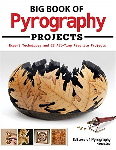 Holz-design-magazin (Big Book of Pyrography Projects)