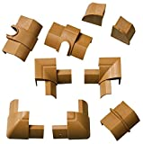 D-Line 22x22mm Accessory Pack Wood Effect for sale  Delivered anywhere in Ireland