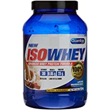 Quamtrax Nutrition Suplemento para Deportistas Isowhey, Sabor a Leche Merengada - 907 gr