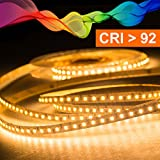Mextronic LED Streifen LED Band LED Strip 2835 Warmweiß (2700K) CRI 92 72W 5 Meter 24V IP20