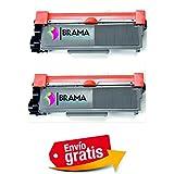 Bramacartuchos Br-Tn2320x2 - Pack de 2 cartuchos de toner compatible con Brother Tn2320
