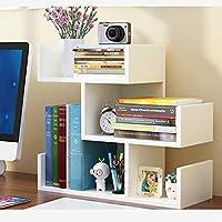 Bookshelf - Table Small Bookshelf Estantes de Escritorio para niños Librerías para Estudiantes Armarios de Almacenamiento Modernos y Modernos para Oficina (Color : B)