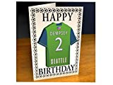 MAJOR LEAGUE SOCCER - MLS TEAM FRIDGE MAGNET GREETING CARDS - FREE PERSONALISATION - ANY NAME, ANY NUMBER, ANY COLOURS !!!!!