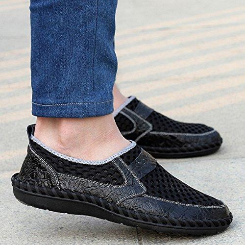 Neoker Chaussures De Plongée Scoglio Chaussures De Bain Hommes Mer Plage Élastique Non-slip Super Léger Séchage Rapide Chaussures 38-44 Noir