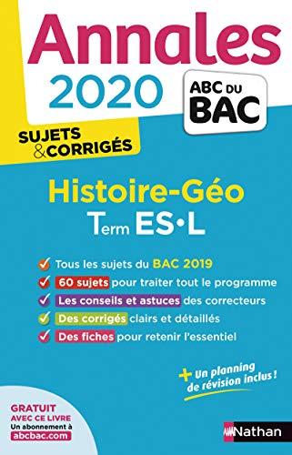 Annales ABC du Bac 2020 Histoire-Géographie Term ES-L