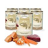 AniForte® PureNature Katzenfutter Fish Cuisine 6 x 375g - Naturprodukt für Katzen