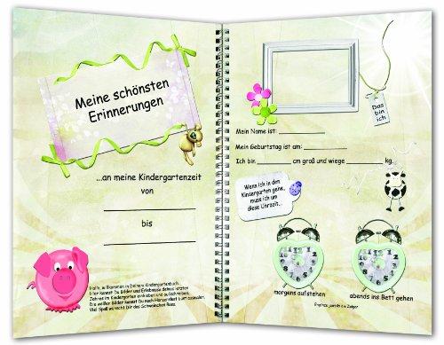 artenjahr - Erinnerungen an die Kindergartenzeit, Kindergarten-Album, Kindergartenbuch (Kindergarten-halloween-bücher)