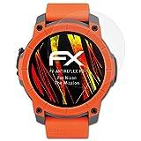 atFoliX Schutzfolie kompatibel mit Nixon The Mission Bildschirmschutzfolie, HD-Entspiegelung FX Folie (3X)