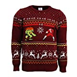 Street Fighter Blanka vs Bison Christmas Sweater