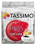 Tassimo Paris Café Long, 16 Kaffee Kapseln, 5er Pack (5 x 107 g)
