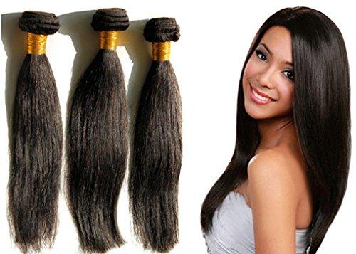 AN-LKYIQI 3 pacchi pacco JERRY capelli brasiliano