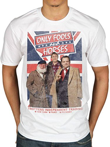Official Only Fools and Horses Union Flag T-shirt - S to XXL