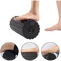 KOBWA Rodillo de Espuma, Foam Roller Electrico para Dolores Crónicos y Recuperación Muscular Pilates Yoga y Gimnasio, 4 Velocidades Niveles