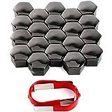 20x Capuchon chrome 19MM protection pour ecrou Vis boulon Roue VW