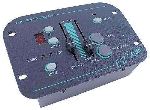 BoomToneDJ EZ Strobe Controller DMX für BoomToneDJ S1500Pro DMX schwarz -