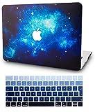 KECC MacBook PRO 13 Pollici (2019/2018/2017/2016, Touch Bar) Custodia Case Rigida w/EU Cover Tastiera Protettiva per Nuovo MacBook PRO 13.3 {A1989/A1706/A1708} (Blu2)