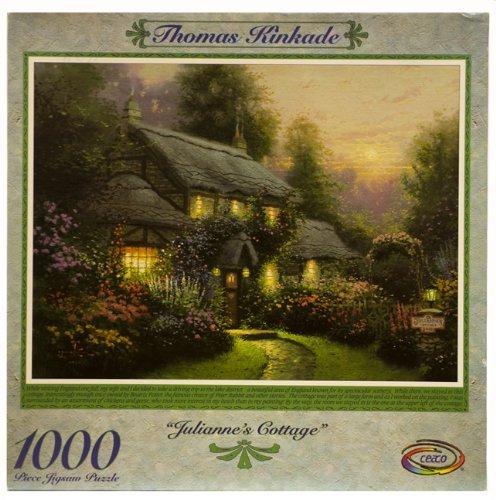 Thomas Kinkade 1000pc. Puzzle-Julianne's Cottage by Ceaco by Ceaco - Juliannes Cottage