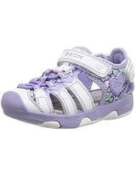 Geox B Sandal Multy Girl - Zapatos primeros pasos para bebé-niñas