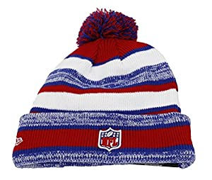 York Giants - Era Beanie - Nfl 14 Sport Knit Game - Blue / White / Red by NEW ERA