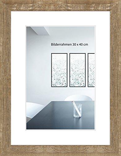 fotorahmen 30x45 WandStyle H750-022 Bilderrahmen / Fotorahmen Strandhaus, Rustikal, Massivholz (30 x 45 cm)