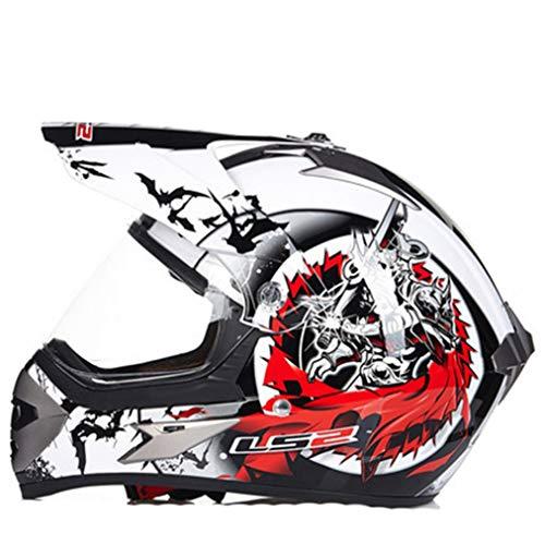 Männer Motocross Helme Anti Fog Winddicht Mountain Road Motorrad Helm Outdoor Off Road Integralhelm Anti Collision Racing Schutzkappen