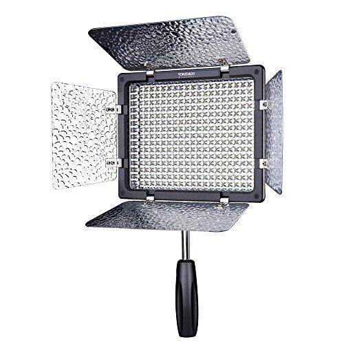 Yongnuo yn-300 iii camera led luce video regolabile 5500k temperatura del colore per dslr canon nikon olympus pentax samsung sony con ir funzionamento remote phone