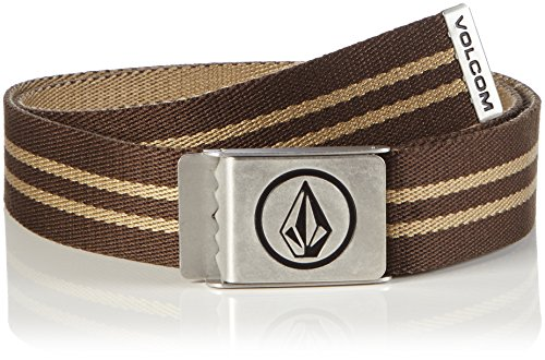 Volcom Herren Gürtel Circle Web Premium, Brown, One Size, D5911593BRN