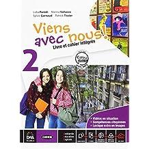 Viens avec nous! Livre élève-Cahier d'exercices-Cartes mentales. Per la Scuola media. Con CD Audio. Con DVD-ROM. Con e-book. Con espansione online: 2