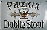 Blechschild Nostalgieschild Phoenix Dublin Stout Bier Irland Bierwerbung retro Schild