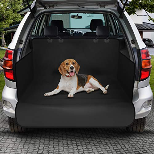 PET VIOLET Universal Auto Kofferraumschutz Matte Hundedecke Wasserdicht, Seitenwand, Ladekantenschutz
