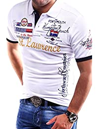 MYTRENDS Styles MT Styles Poloshirt Lawrence T-Shirt MP-301