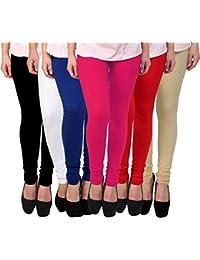 PIXIE Leggings Set for Women's/Girls in Combo (Pack of 6) - Free Size