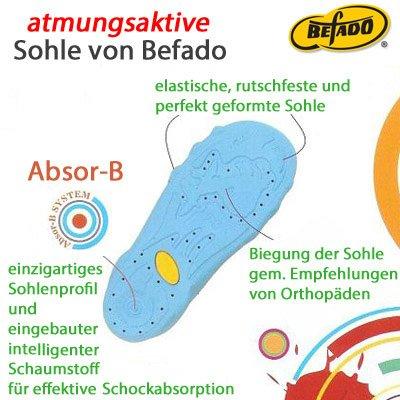BEFADO Jungen Hausschuhe Freizeitschuhe ATMUNGSAKTIV 273X Muster-4