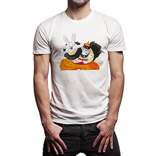 Dragon Ball Super Android 19 Herren T-Shirt Weiß