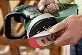 Bosch DIY Exzenterschleifer PEX 400 AE, 1 Schleifpapier K 80, Koffer (350 W, Schleifteller-Ø 125 mm, Microfilter System, Schwingzahl 4.000 - 21.200 min-1) -