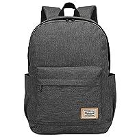 Travel Laptop Backpack Rucksack for Women Men,Modoker Vintage College School Backpack with USB Charging Port,Multipurpose Daypack Computer Bag Fits 15 inch