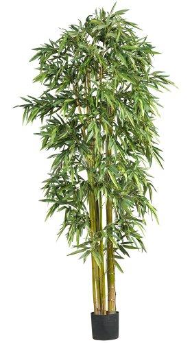 Nearly Natural 5191 7 Biggy, bambou soie Arbre-Vert