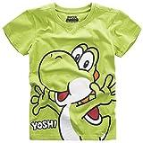 Super Mario Yoshi T-shirt Enfant vert 146/152