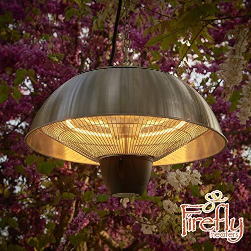 Firefly Halogen Deckenheizstrahler mit Fernbedienung / 2100 Watt