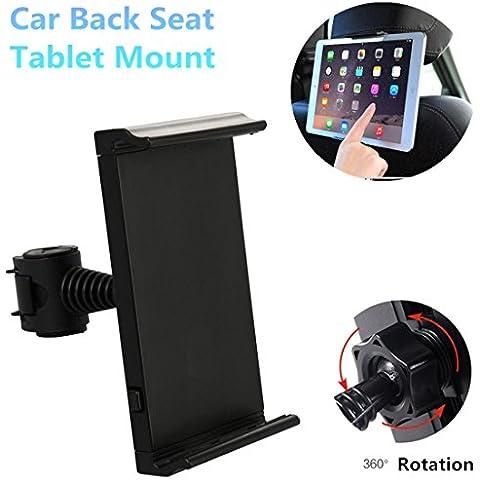 Coscod Headtab [Una Mano] apoyo para la cabeza del asiento trasero de montaje de la tableta de coches - Coscod 360 Rotación de soporte para Apple iPad Pro 9.7