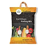#1: Trust Basket Enriched Organic Earth Magic Potting Soil Mix Fertilizer For Plants 5Kg
